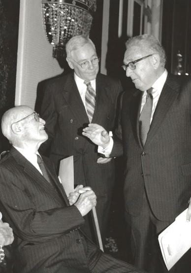Kennan, Schwab and Kissinger