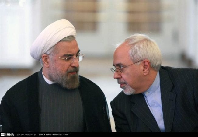 Hassan Rohani and Javad Zarif's Work Plan