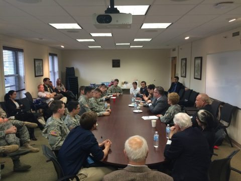 In 2014 the NCAFP joined with the West Point Cyber Institute to bring together experts in a day-long trip to the United States Military Academy