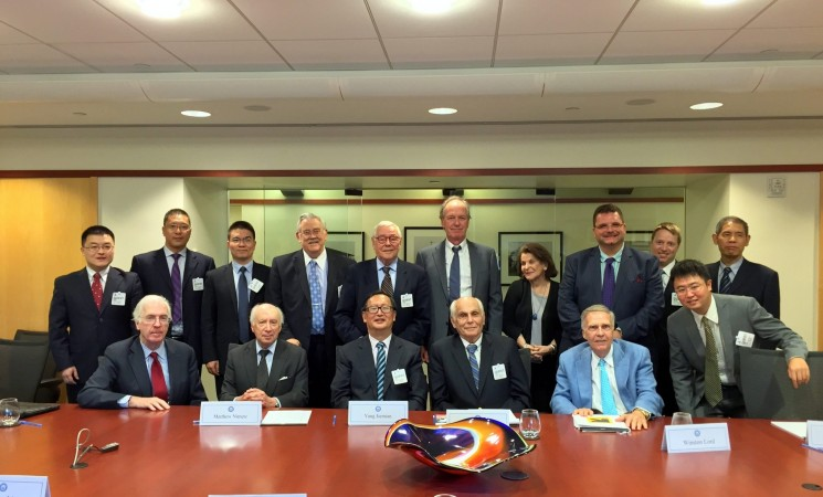NCAFP Meeting with the Shanghai Institute for International Studies (SIIS)