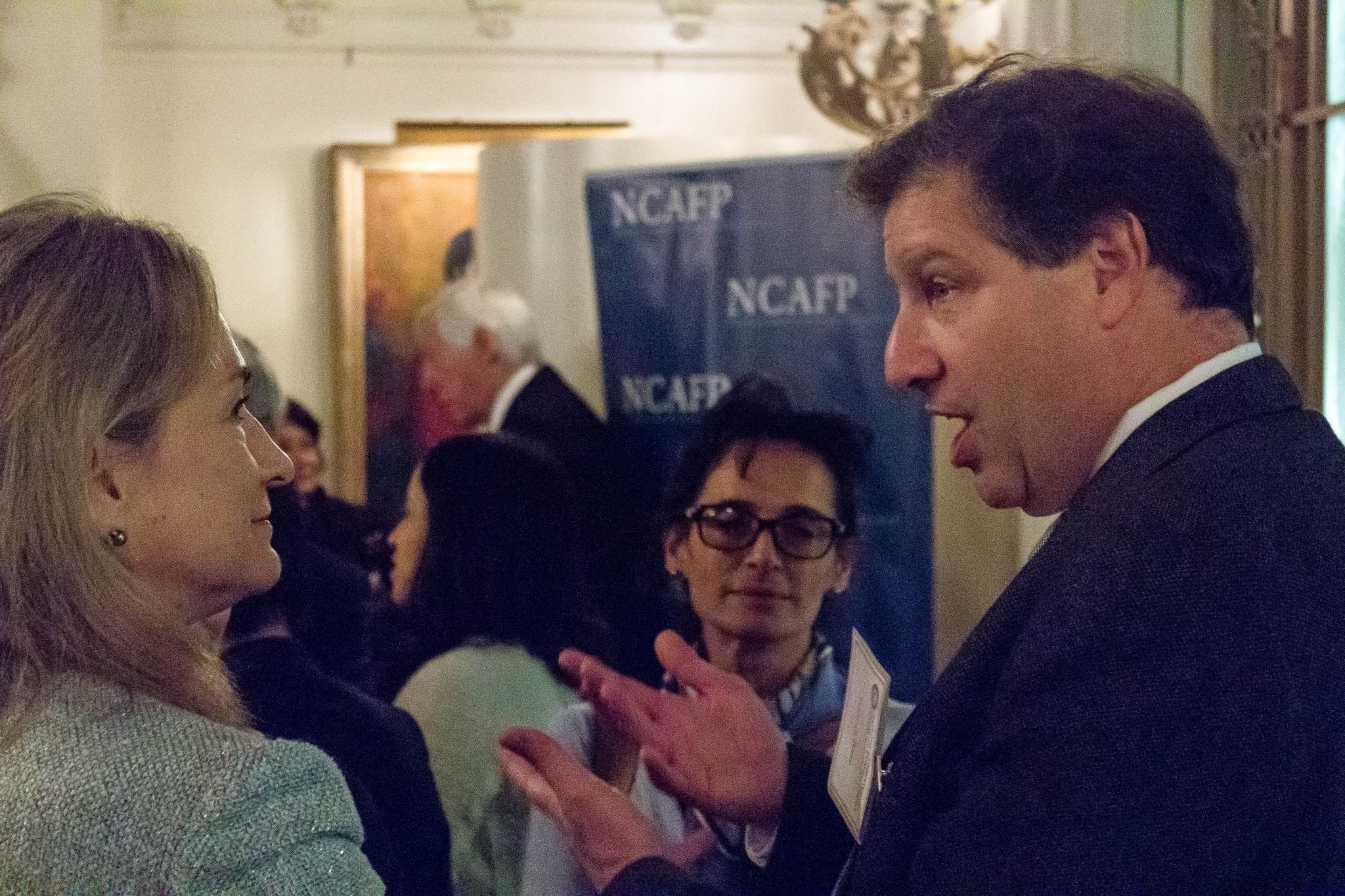 Gideon Rose engages with NCAFP guests
