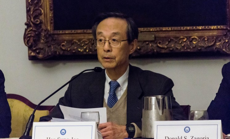 """The Honorable Han Sung-Joo on """"China's Interest in Korean Unification"""""""