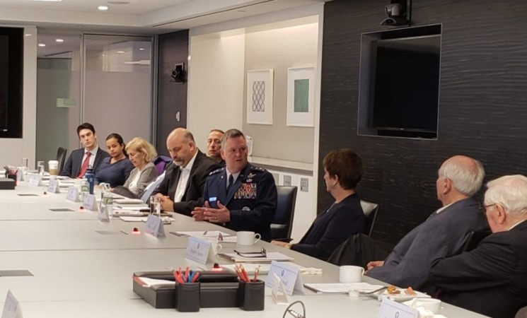 "Roundtable with Lt. Gen. Marshall ""Brad"" Webb"