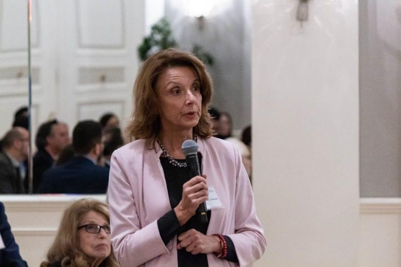 The Permanent Representative of Montenegro addresses the audience.