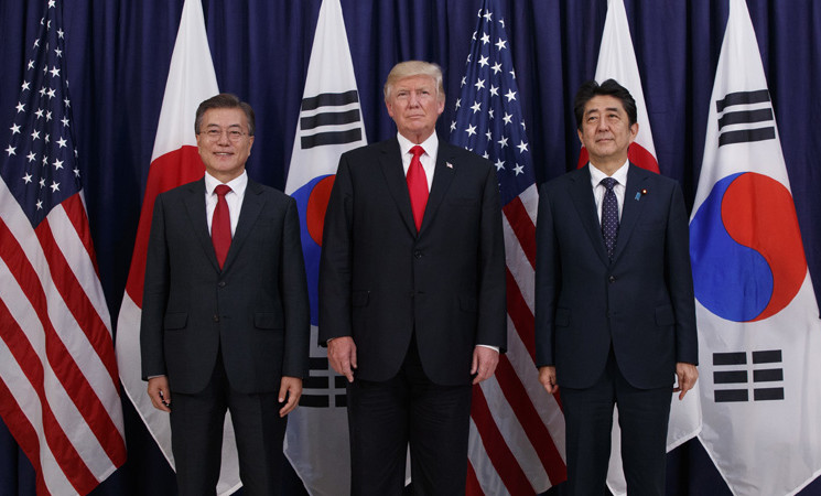US-Japan-ROK: Muddling Through Troubled Waters