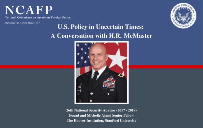 Watch Now: A Conversation with H.R. McMaster