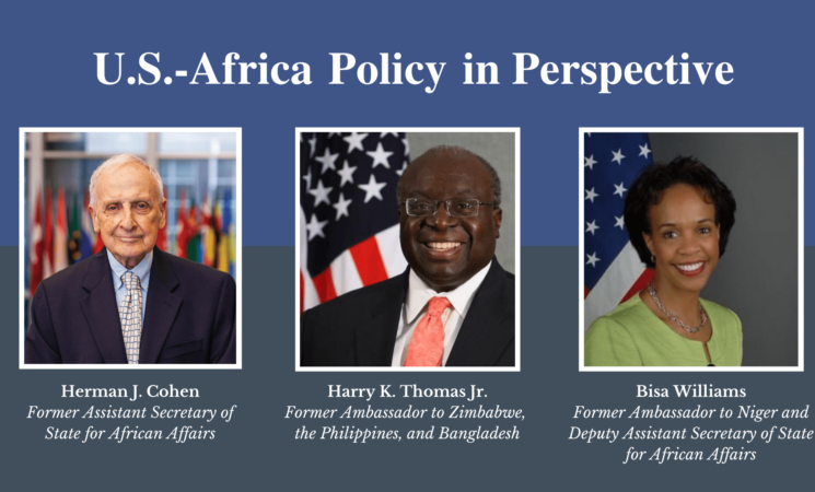 EVENT: U.S. Africa Policy in Perspective