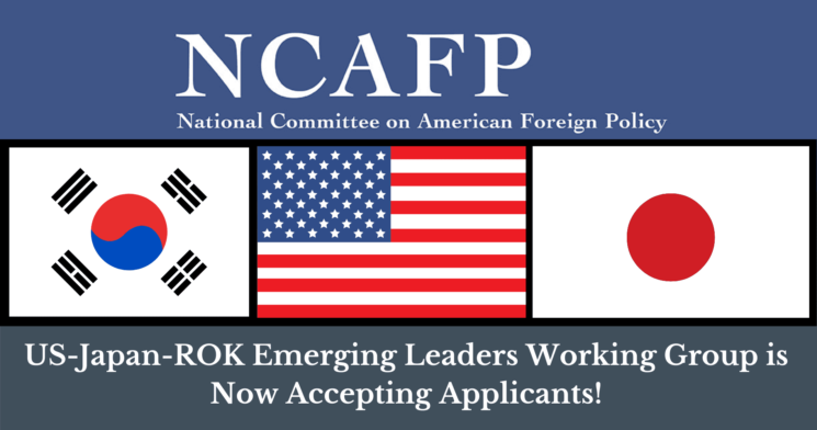 Apply: US-Japan-ROK Emerging Leaders Working Group